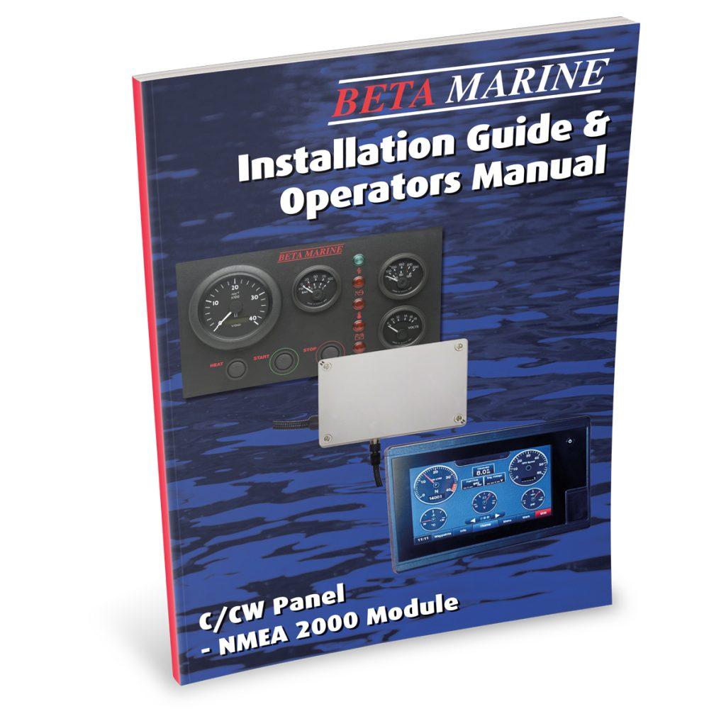 Beta Marine USA - marine diesel propulsion engines - NMEA 2000 control module operators manual