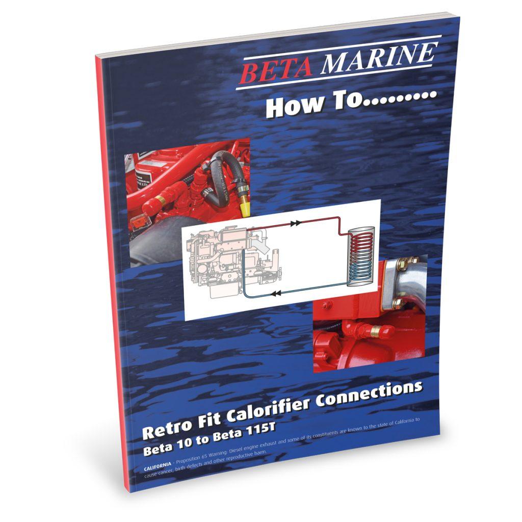 Beta Marine USA - marine diesel propulsion engines - heat exchanger retro fit calorifier connections