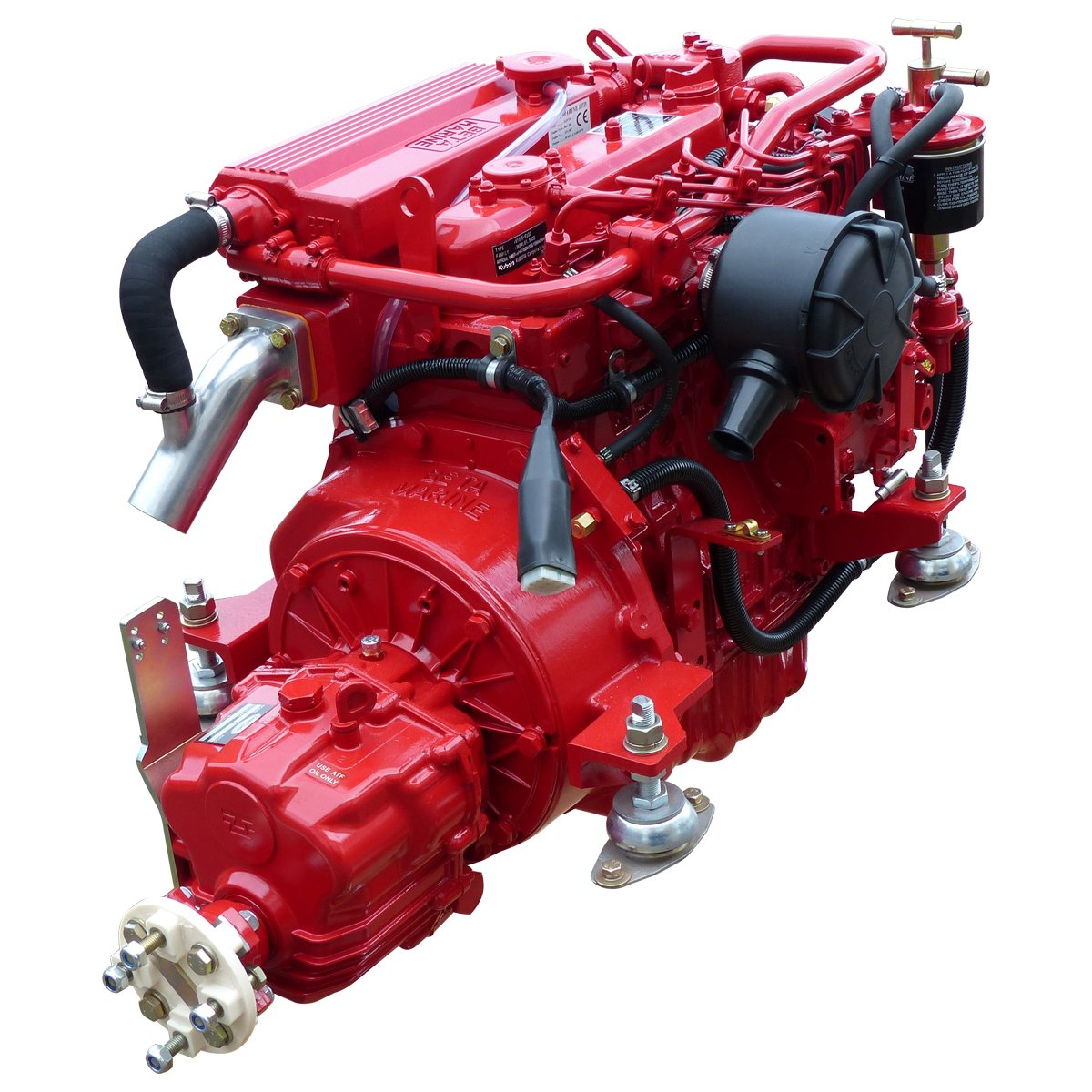 Beta Marine USA - marine diesel propulsion engines - Beta 35 heat exchanger engine