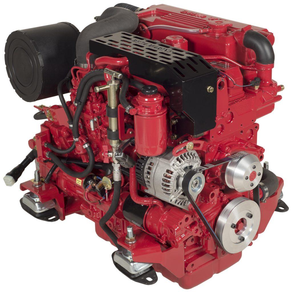 Beta Marine USA - marine diesel propulsion engines - Beta 70T heat exchanger engine