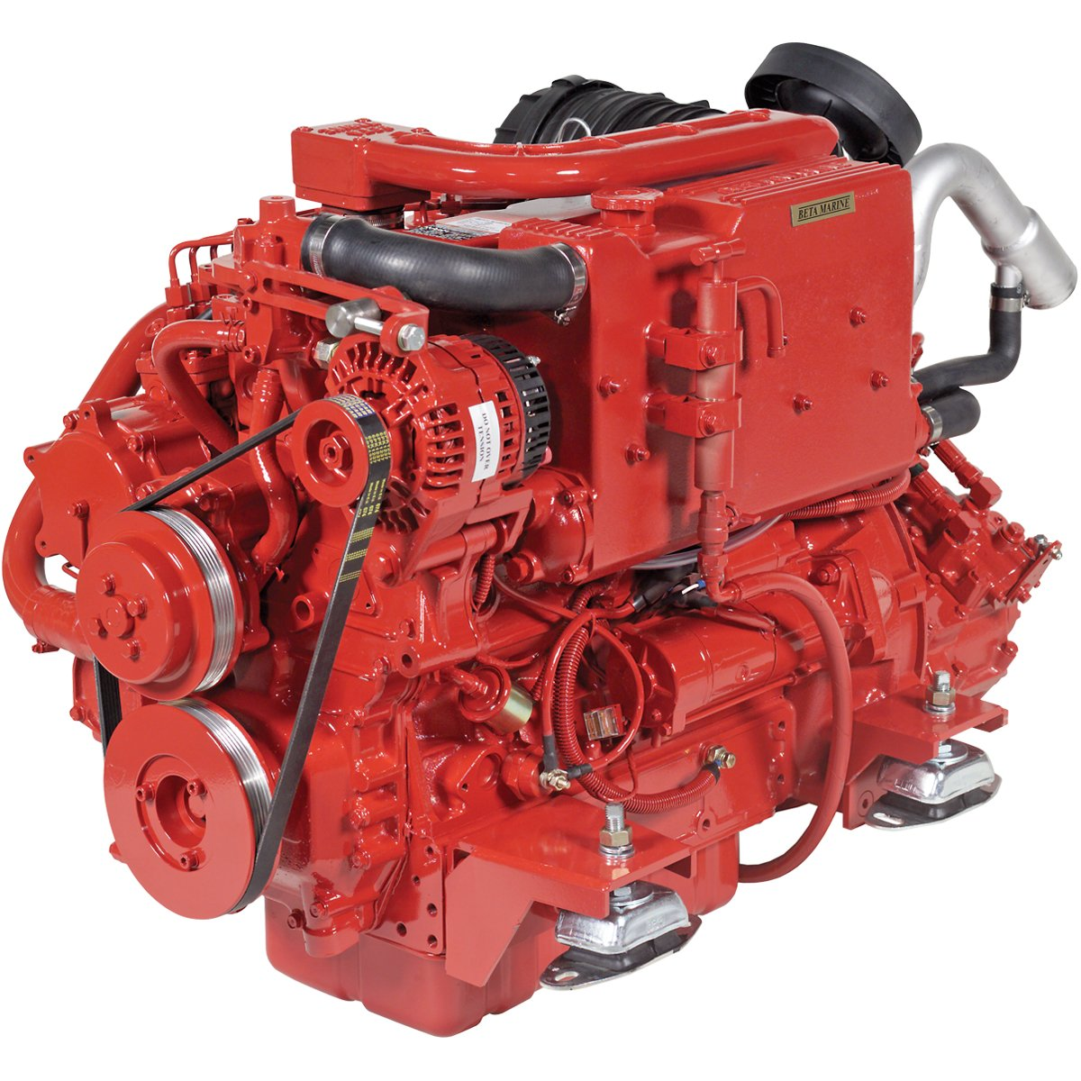 Beta Marine USA - marine diesel propulsion engines - Beta 75 heat exchanger engine