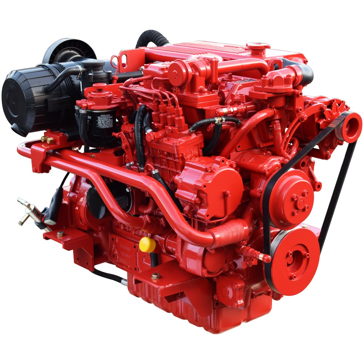 Beta Marine USA - marine diesel propulsion engines - Beta 105T heat exchanger engine
