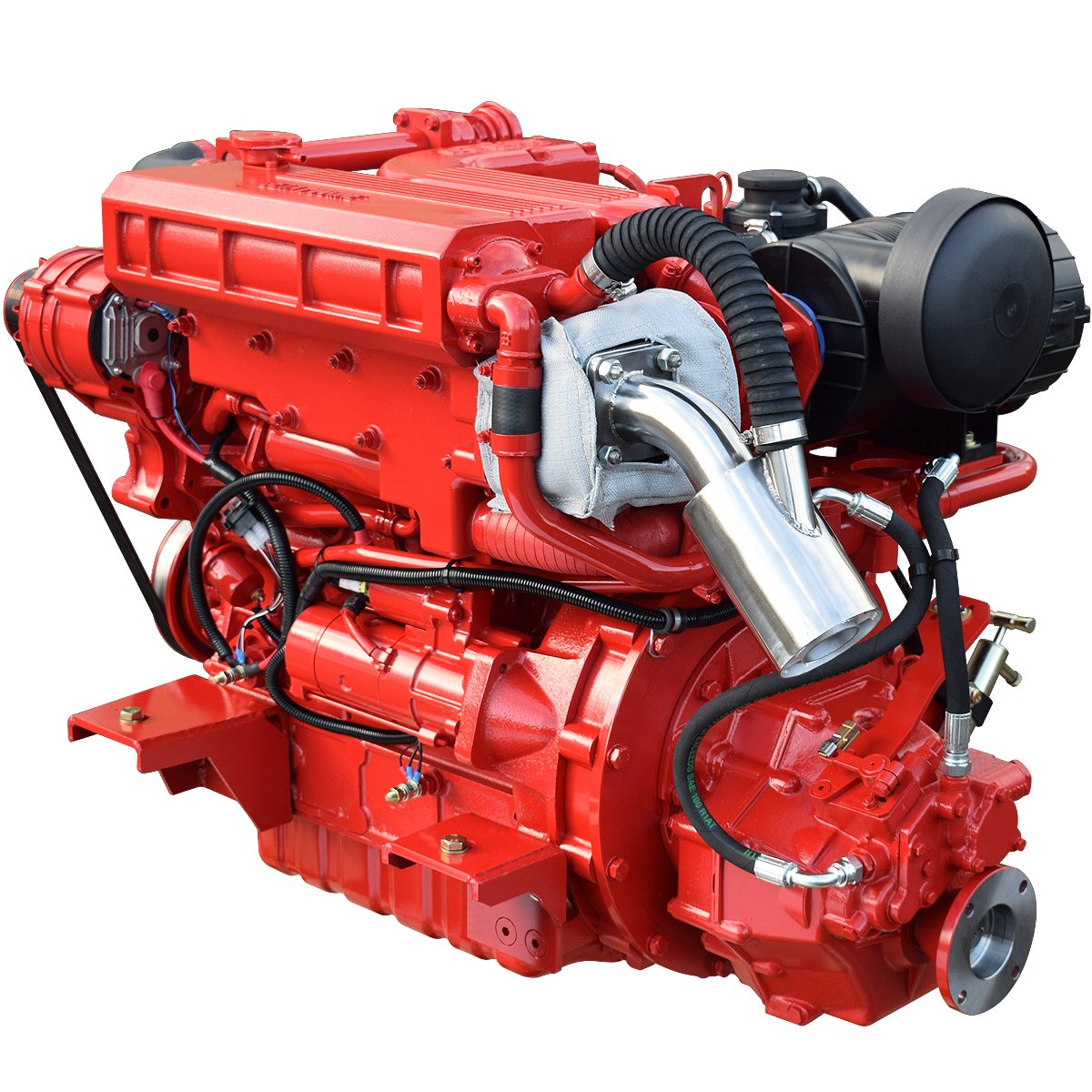 Beta Marine USA - marine diesel propulsion engines - Beta 115T heat exchanger engine