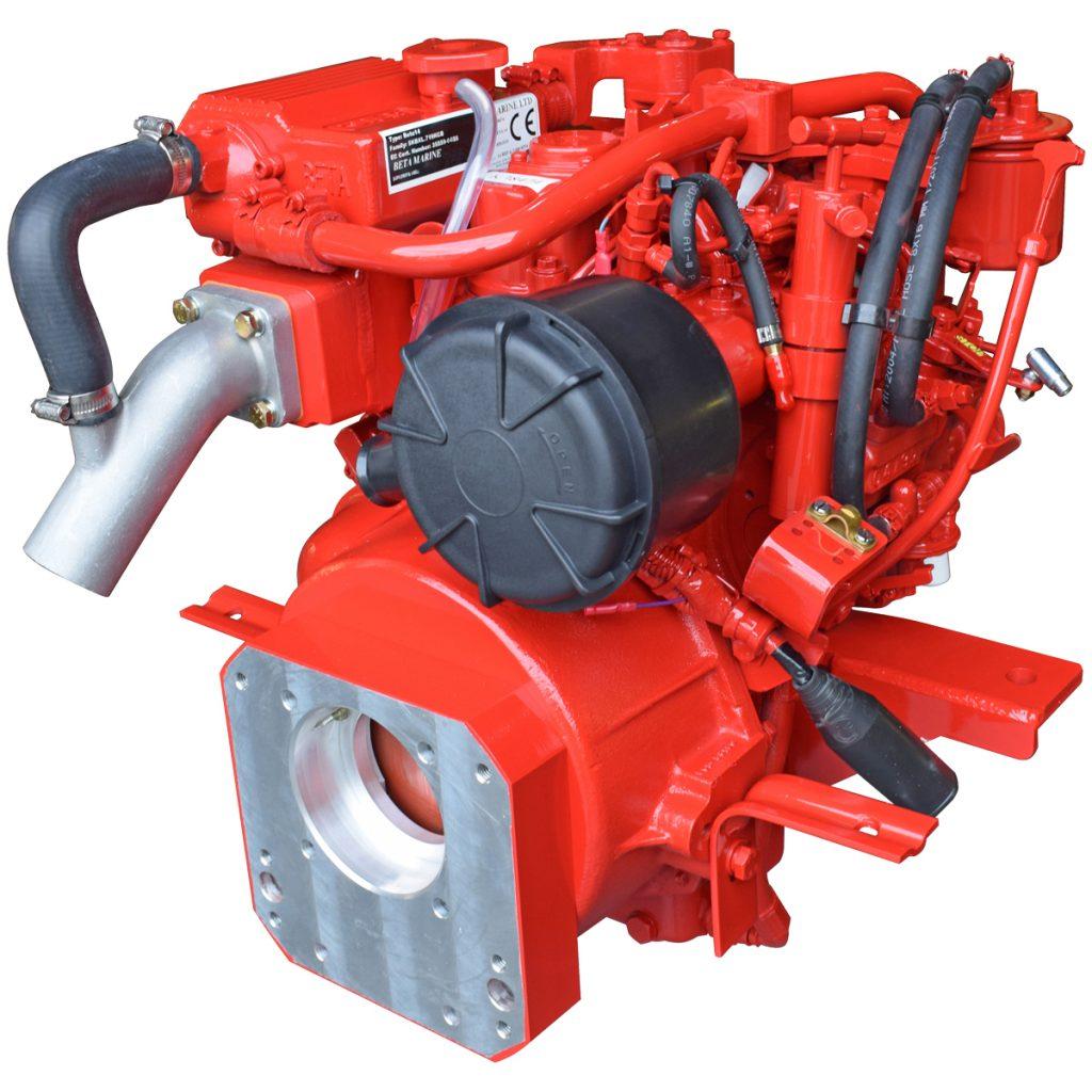 Beta Marine USA - marine diesel saildrive engines - Beta 14SD heat exchanger saildrive engine