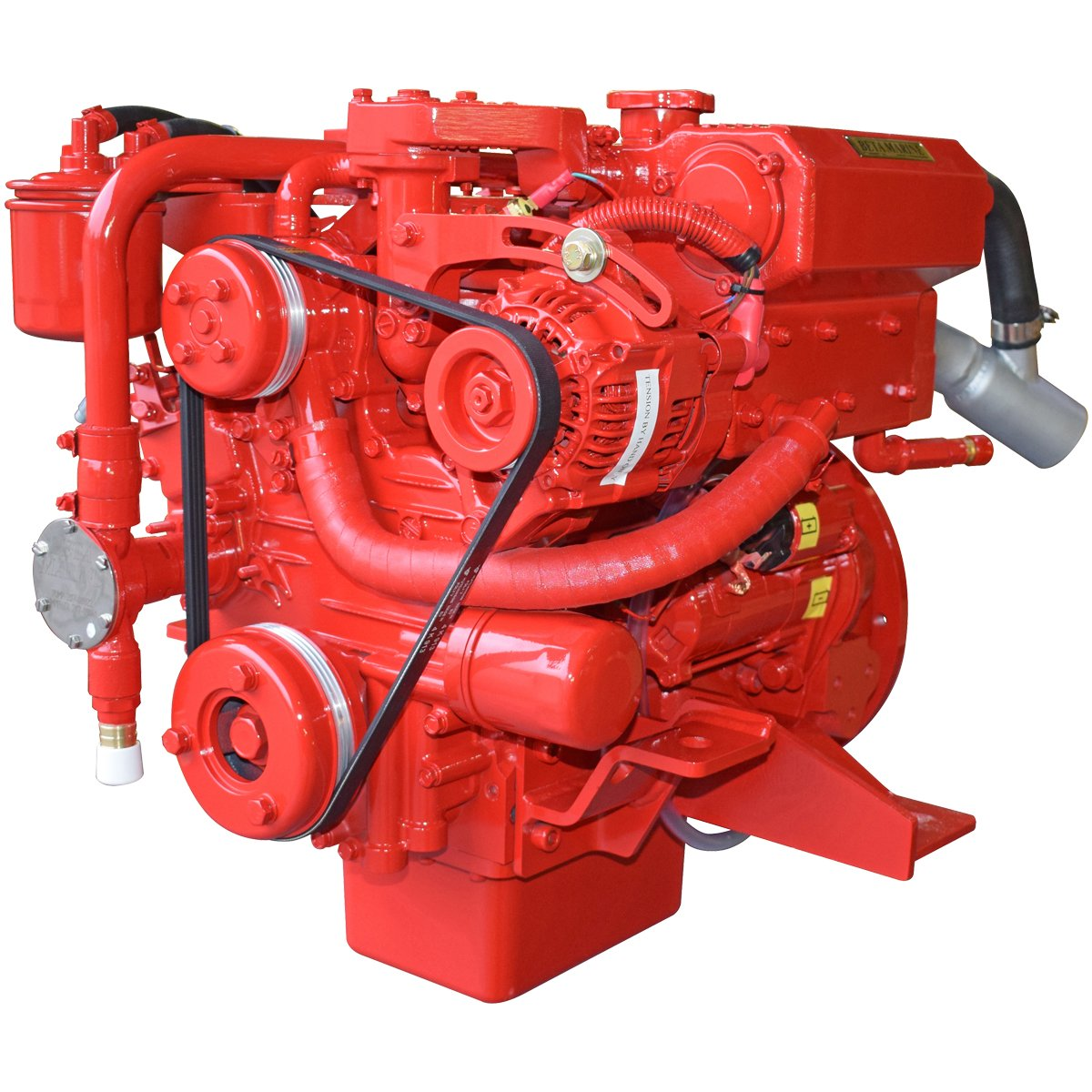 Beta Marine USA - marine diesel saildrive engines - Beta 20SD heat exchanger saildrive engine