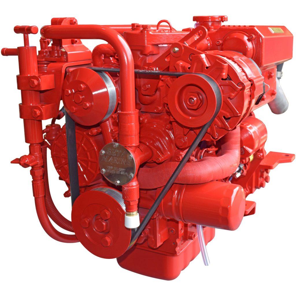 Beta Marine USA - marine diesel saildrive engines - Beta 30SD heat exchanger saildrive engine