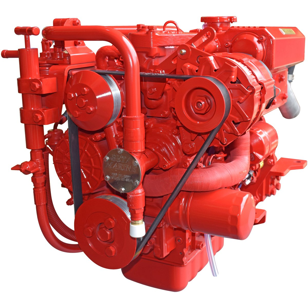 Beta Marine USA - marine diesel saildrive engines - Beta 30SD heat exchanger saildrive engine