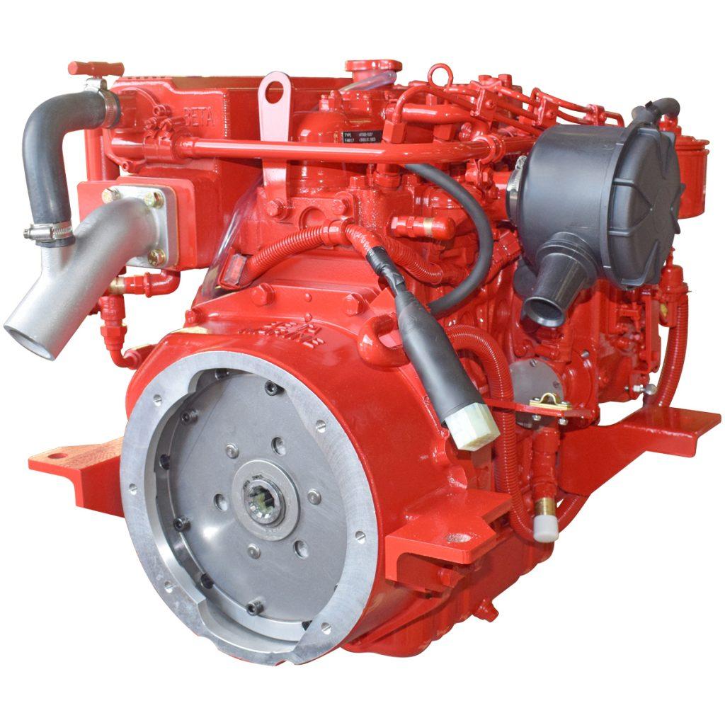 Beta Marine USA - marine diesel saildrive engines - Beta 35SD heat exchanger saildrive engine
