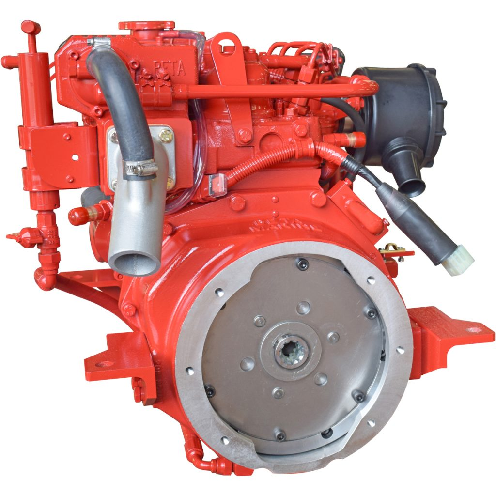 Beta Marine USA - marine diesel saildrive engines - Beta 38SD heat exchanger saildrive engine