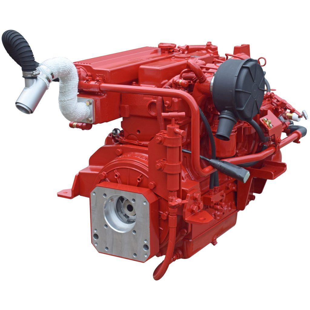 Beta Marine USA - marine diesel saildrive engines - Beta 43SD heat exchanger saildrive engine