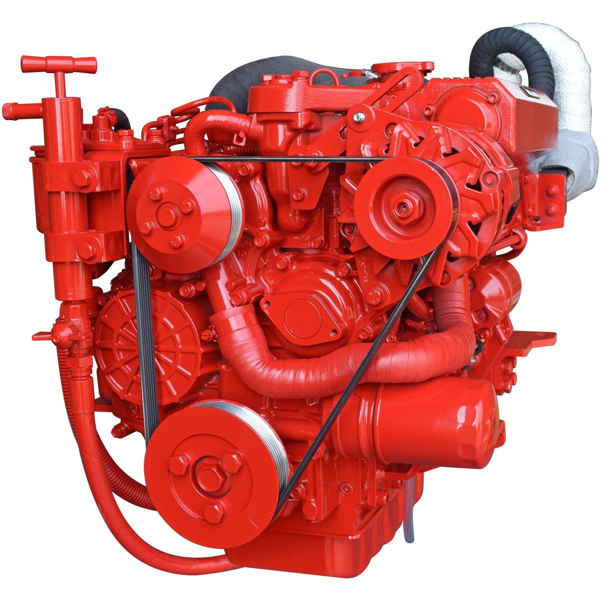 Beta Marine USA - marine diesel saildrive engines - Beta 45TSD heat exchanger saildrive engine