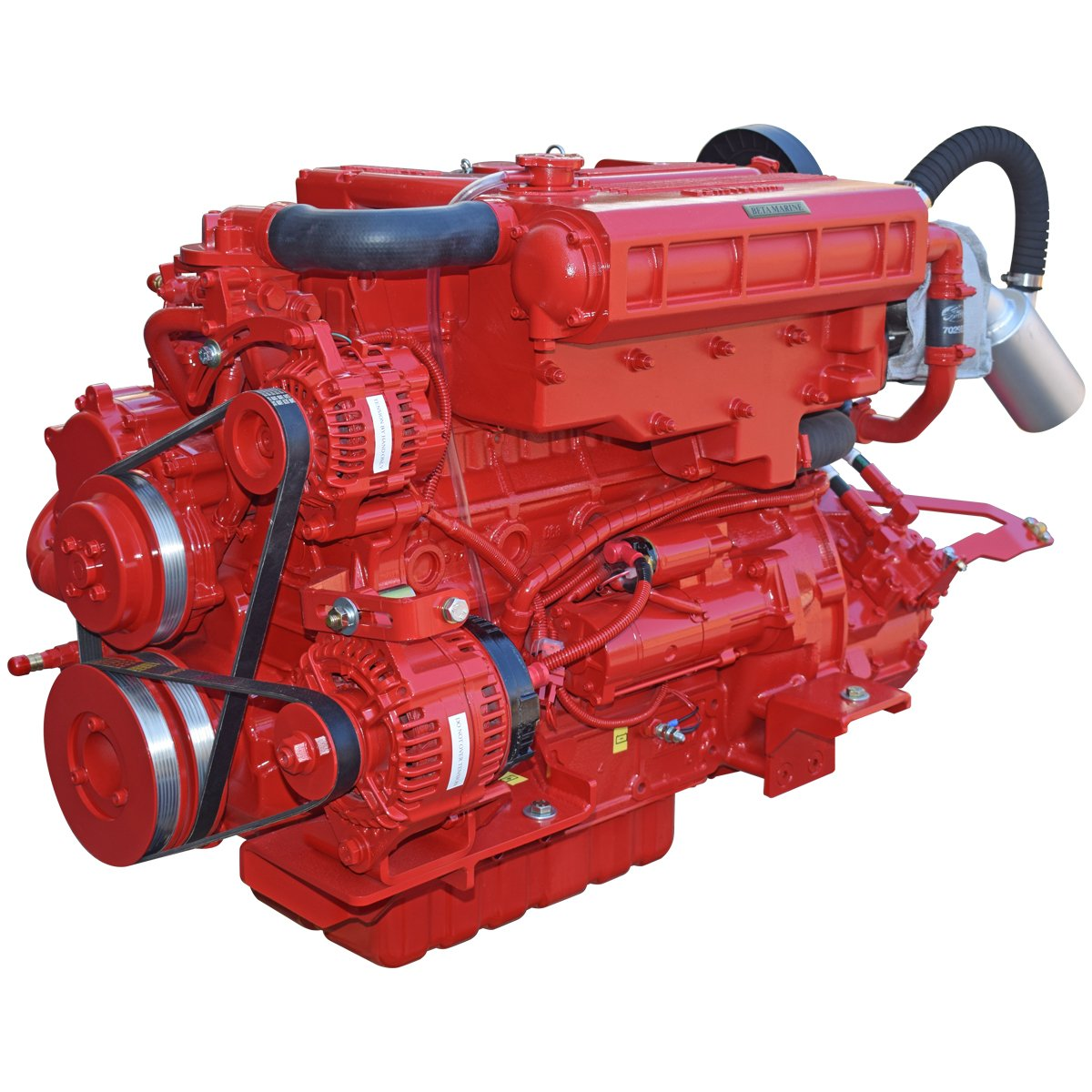 Beta Marine USA - marine diesel propulsion engines - Beta 90T heat exchanger engine