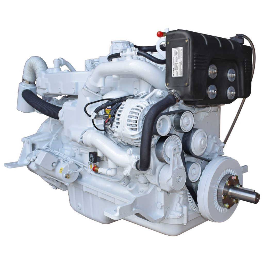 Beta Marine USA - marine diesel propulsion engines - Beta 150 heat exchanger engine