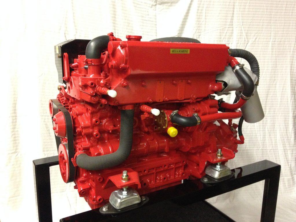 Beta Marine 85T Diesel Engine