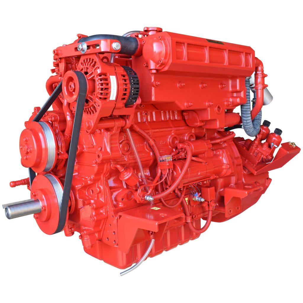 Beta Marine USA - marine diesel propulsion engines - Beta 90 heat exchanger engine