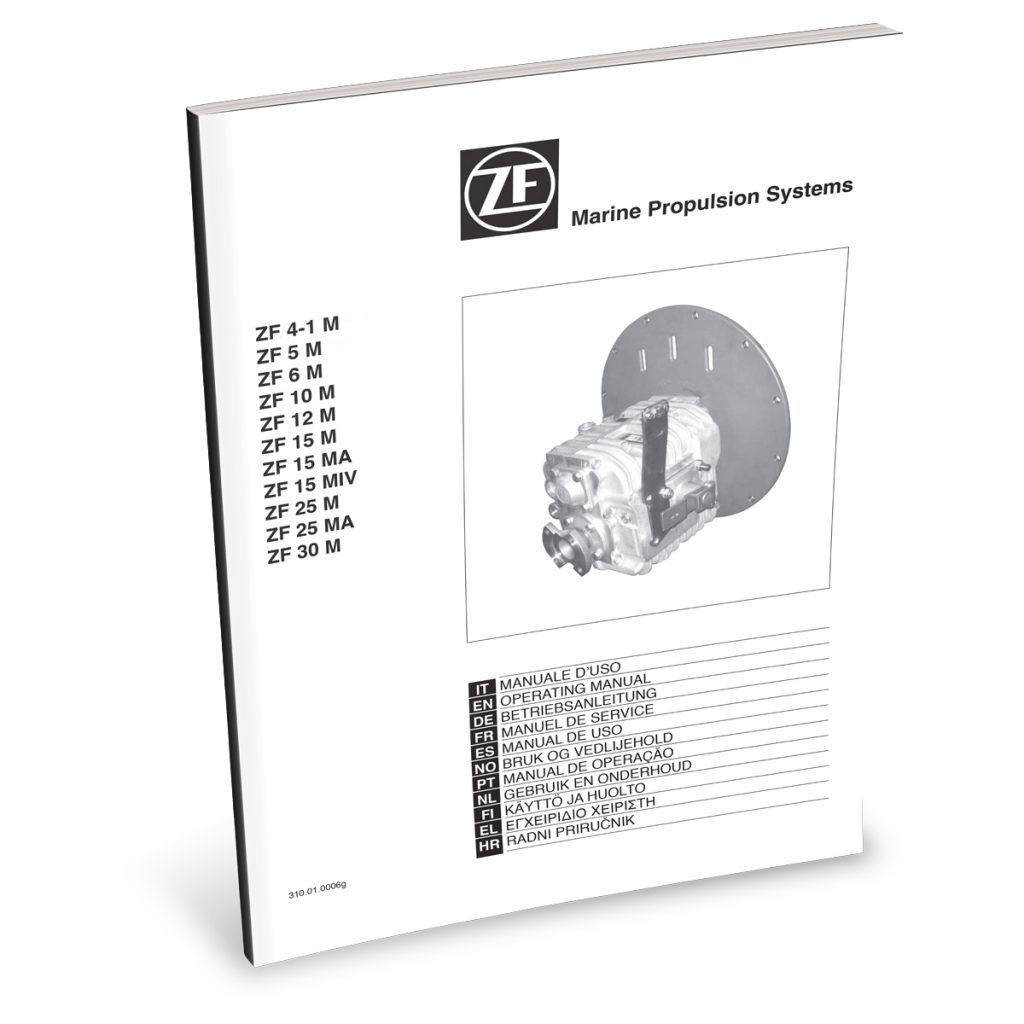 Beta Marine USA - marine diesel propulsion engines - ZF transmission user manual