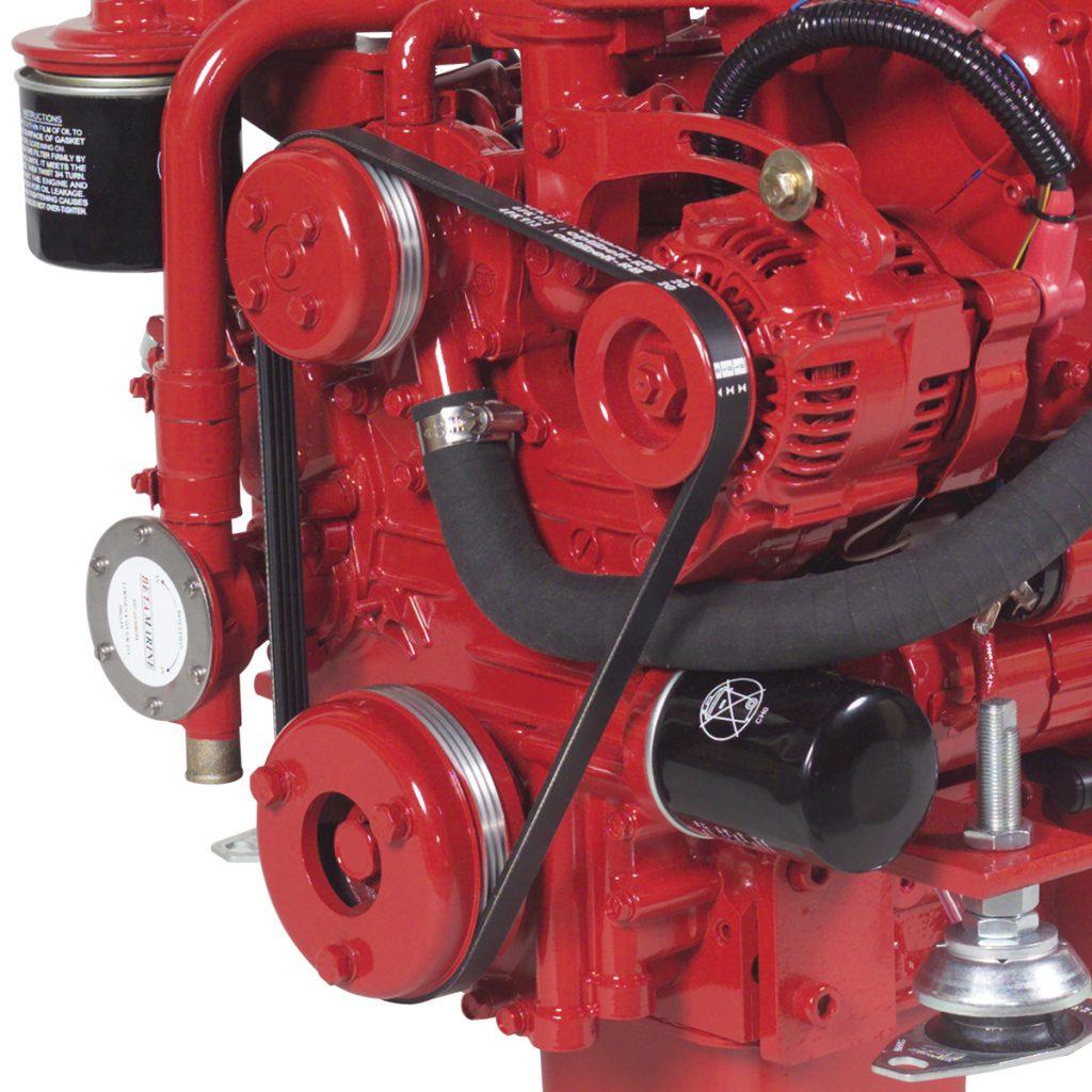 Beta Marine USA - marine diesel propulsion engines - alternator options