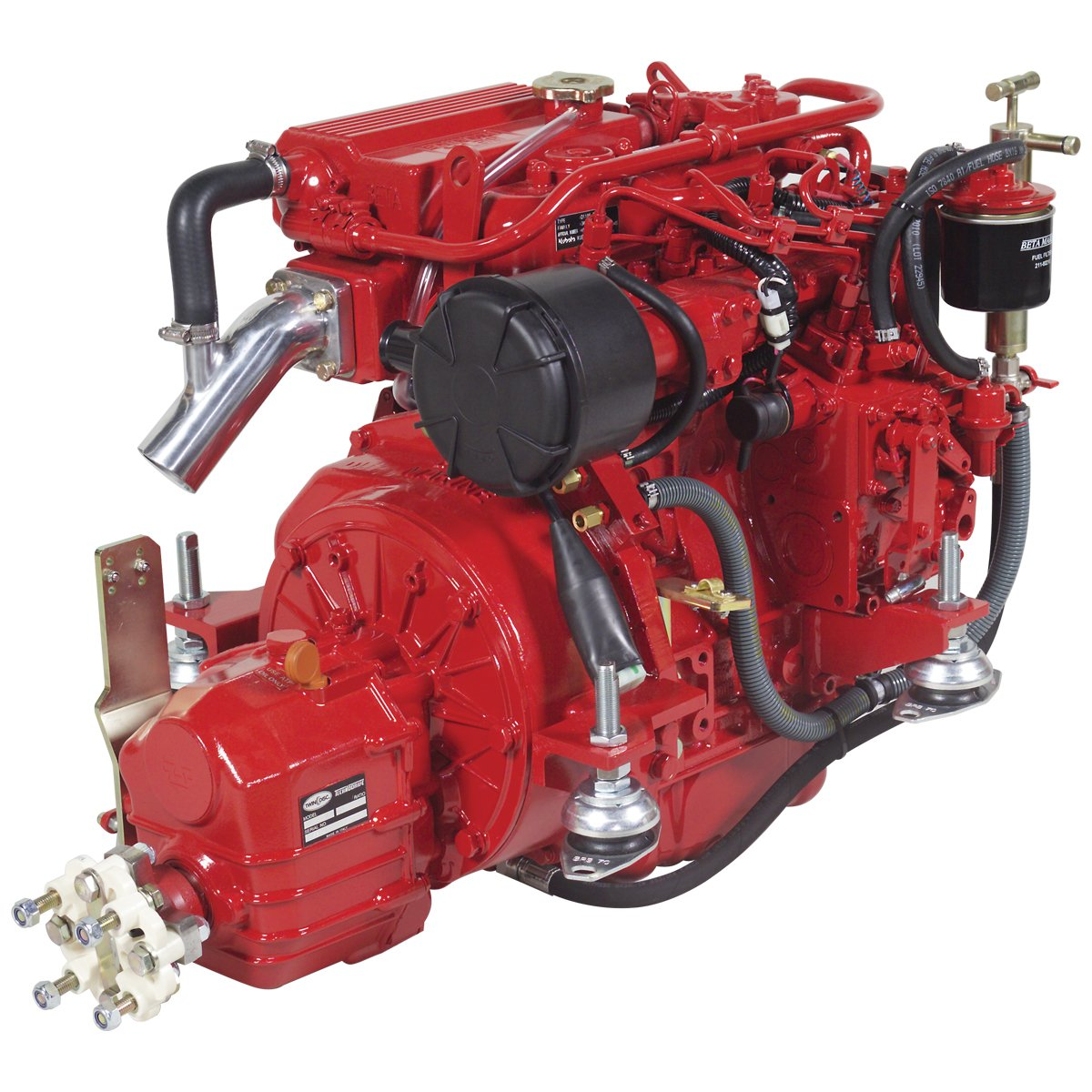 Beta Marine USA - marine diesel propulsion engines - Beta 30 heat exchanger engine