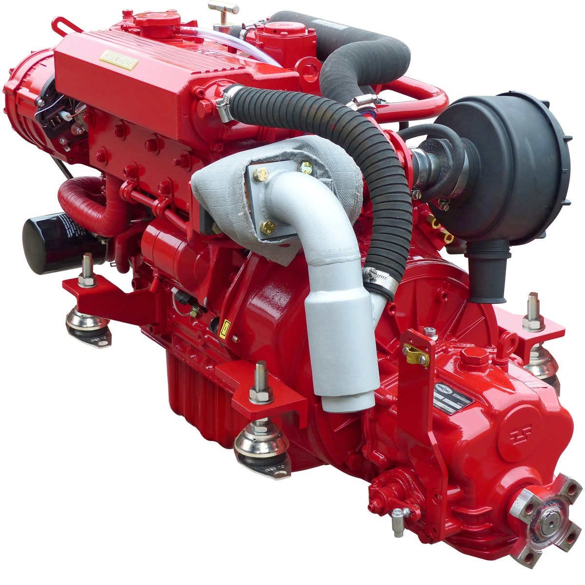 Beta Marine USA - marine diesel propulsion engines - Beta 45 heat exchanger engine