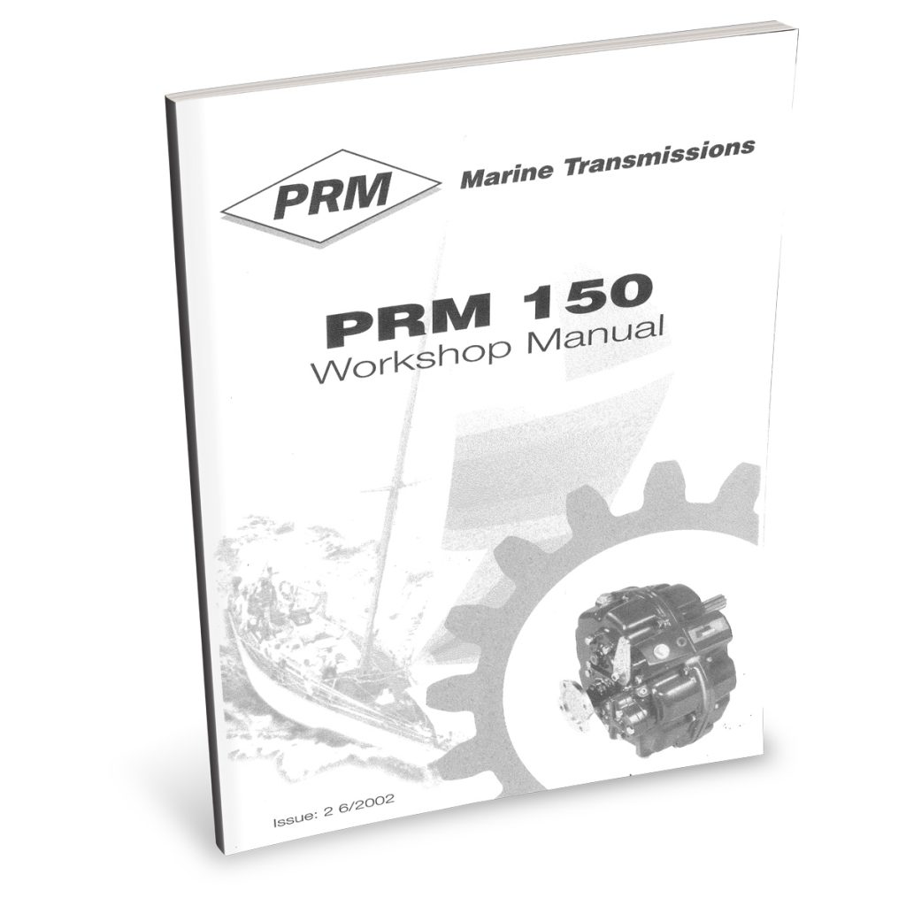 Beta Marine USA - marine diesel propulsion engines - PRM150 transmission user manual