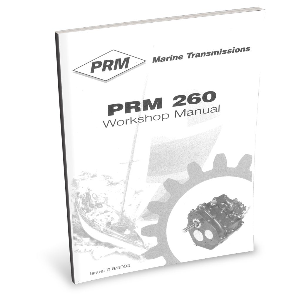 Beta Marine USA - marine diesel propulsion engines - PRM260 transmission user manual
