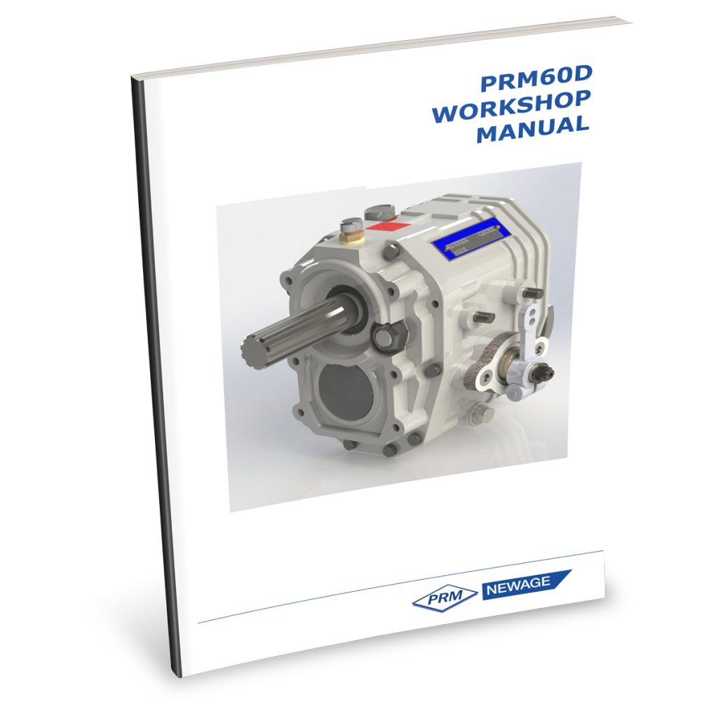 Beta Marine USA - marine diesel propulsion engines - PRM60 transmission user manual