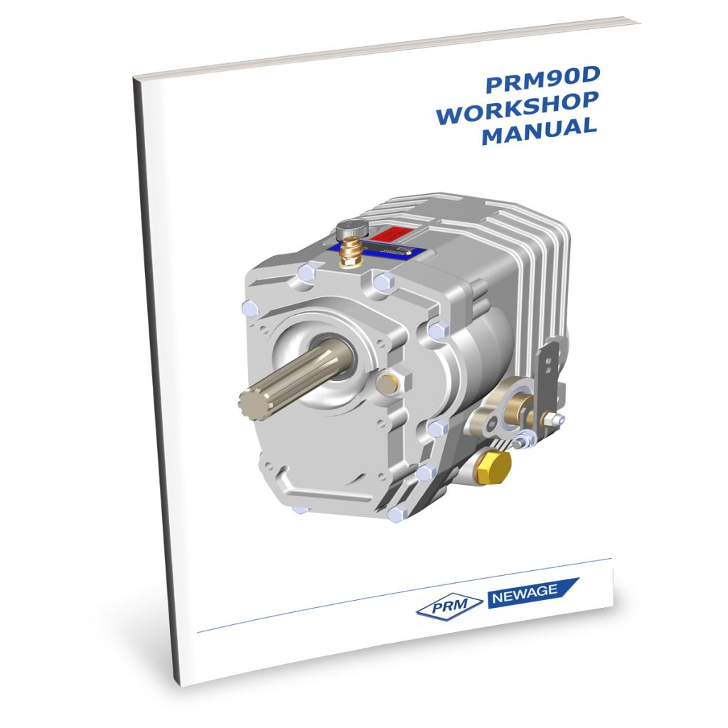 Beta Marine USA - marine diesel propulsion engines - PRM90 transmission user manual