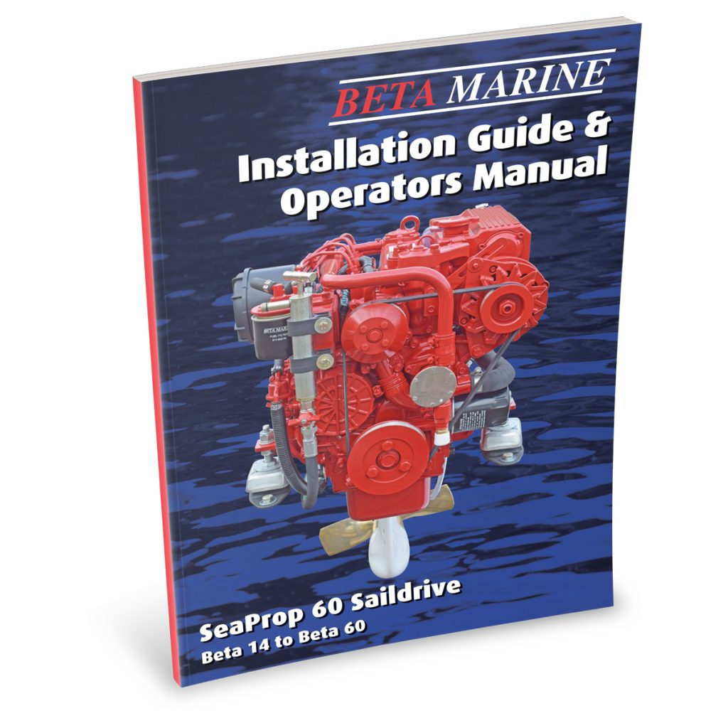 Beta Marine USA - marine diesel propulsion saildrives - heat exchanger saildrives operators manual