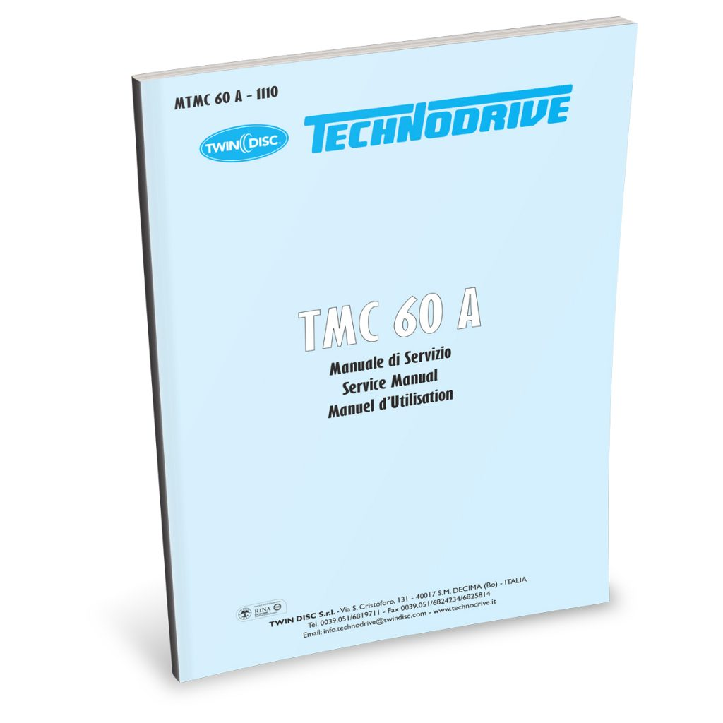 Beta Marine USA - marine diesel propulsion engines - TMC60A transmission user manual