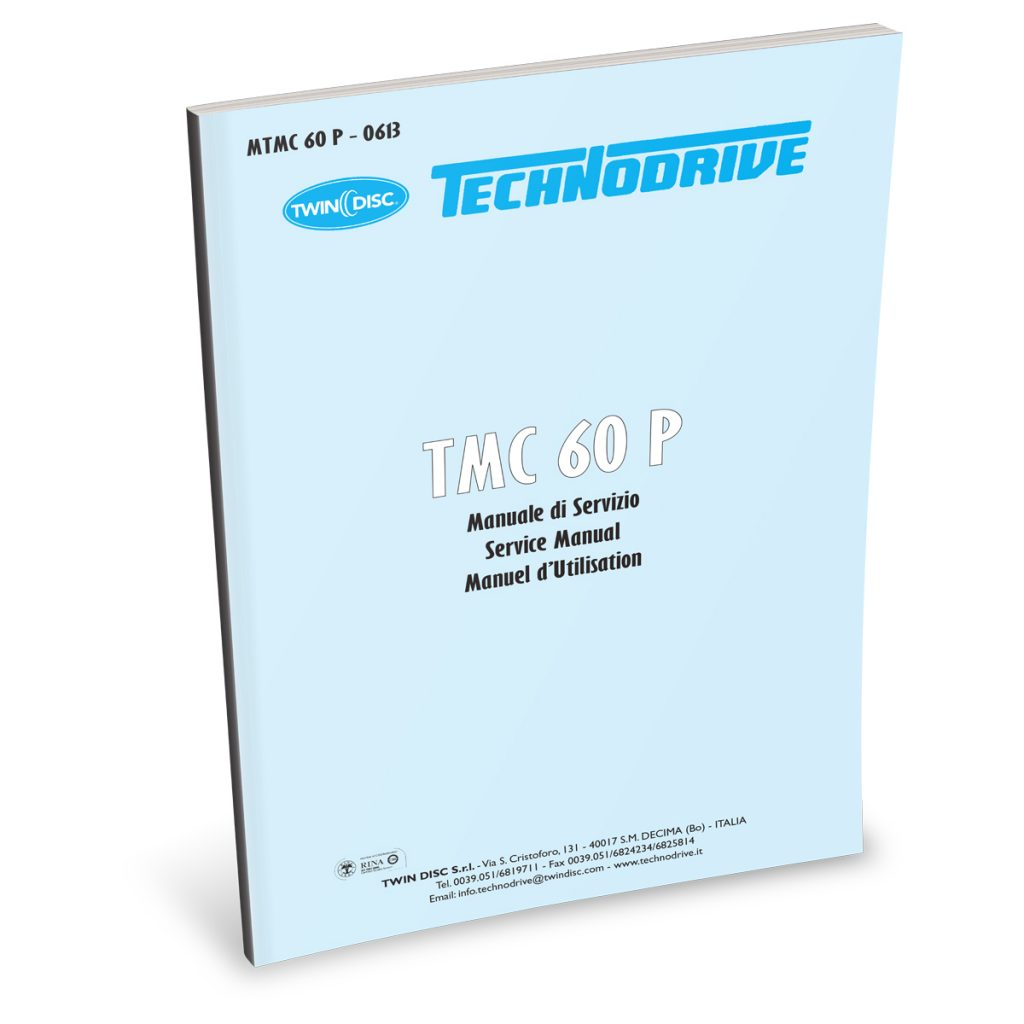 Beta Marine USA - marine diesel propulsion engines - TMC60 transmission user manual