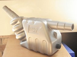 Beta Marine USA - marine diesel propulsion engines - waterlock silencer