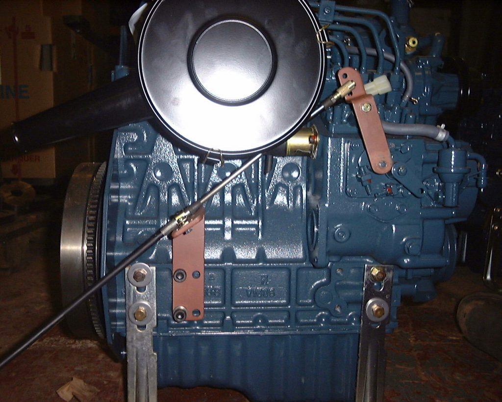 Beta Marine USA - marine diesel propulsion engines - Reverse Throttle