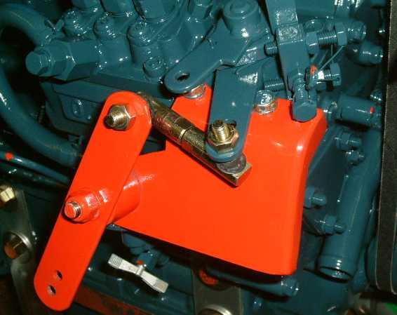 Beta Marine USA - marine diesel propulsion engines - Reversing Throttle