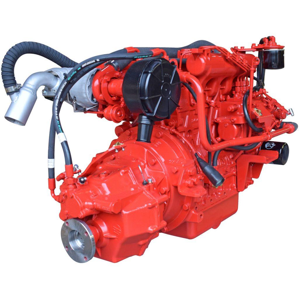 Beta Marine USA - marine diesel propulsion engines - Beta 62T heat exchanger engine